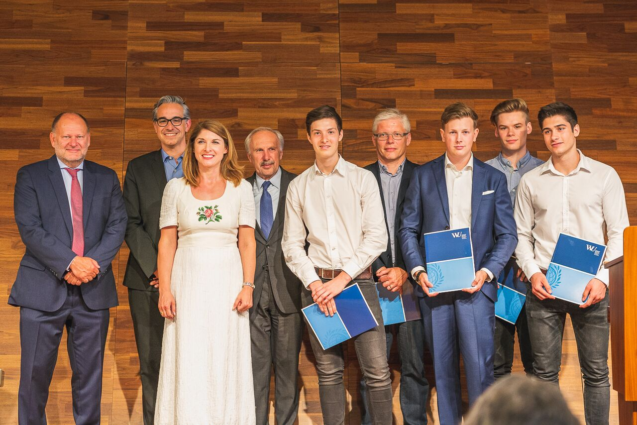 WU Research Talent Award gewonnen!--Bild-Nr. 2